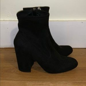 Steven Madden Suede Ankle Boots